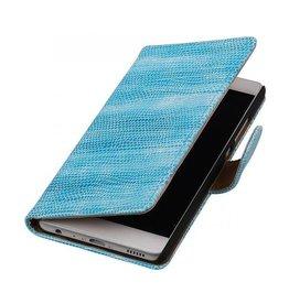 iHoez.nl Lizard boekhoesje Huawei P9 Turquoise