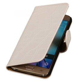 iHoez.nl Croco Samsung Galaxy S7 Edge Wit