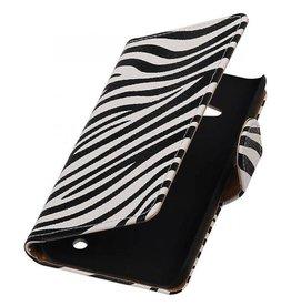 iHoez.nl Zebra Lumia 550 hoesje Wit