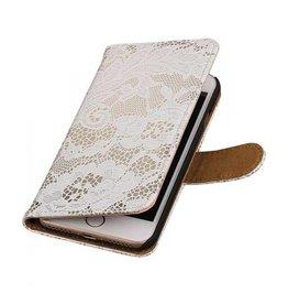 iHoez.nl Lace iPhone 7 boekhoesje wit