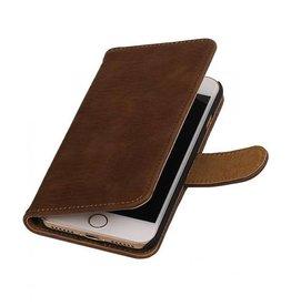 iHoez.nl Bark iPhone 7 boekhoesje bruin