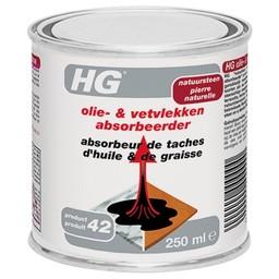 HG natuursteen olie- & vetvlekken absorbeerder (HG product 42)
