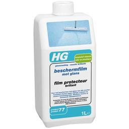 HG kunststof vloeren beschermfilm met glans (glanscoating) (HG product 77)