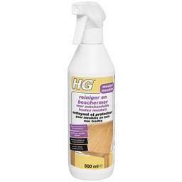 HG reiniger en beschermer voor onbehandelde houten meubels