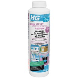HG navul vochtvangerkorrels met lavendel geur