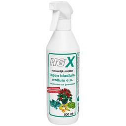 HG X natuurlijk middel tegen bladluis, wolluis, e.a. op planten en gewassen