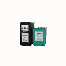 Huismerk Set cartridges voor Hp 339/344