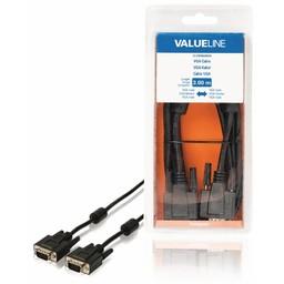 <br />  VGA-kabel VGA mannelijk - VGA mannelijk 3,00 m zwart