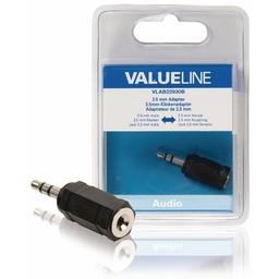 <br />  Audio-adapter 3,5 mm male - 2,5 mm female zwart