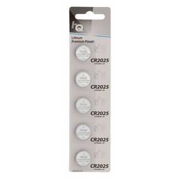 <br />  Lithium knoopcel CR2025 batterij 3 V, blister 5 stuks