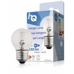 HQ Halogeenlamp kogel E27 42 W 630 lm 2 800 K