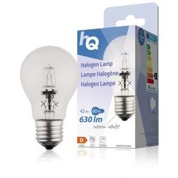 HQ Halogeenlamp klassiek GLS E27 42 W 630 lm 2 800 K