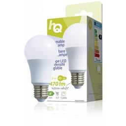HQ Dimbare LED-lamp A60 E27 6,5 W 470 lm 2 700 K