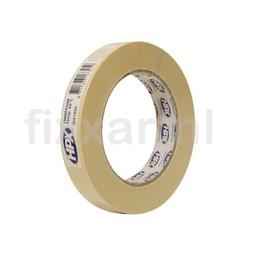 Hpx Masking tape 60°C - crèmewit 19mm x 50m