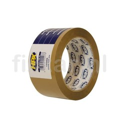 Hpx Verpakkingstape - bruin 50mm x 66m