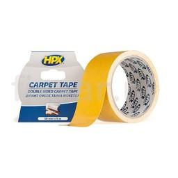 Hpx Dubbelzijdige tapijttape - wit 50mm x 5m