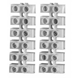 Elektrofix Elektrofix kroonstrip transparant 10 mm 2 stuks