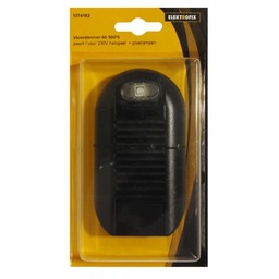 Elektrofix Elektrofix vloerdimmer 60-500 W zwart