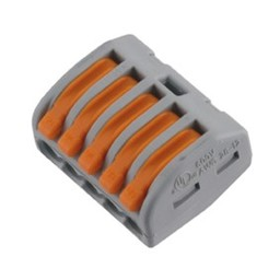 Elektrofix Elektrofix lasklem 5-voudig hersluitsluitbaar 10 st