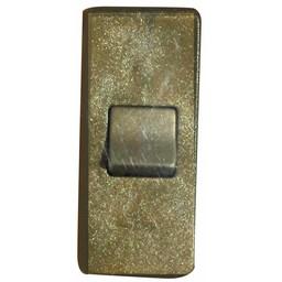 Elektrofix Elektrofix snoerschakelaar 220 V goud