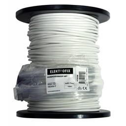 Elektrofix Huishoudsnoer 3 x 0,75 mm wit prijs per meter