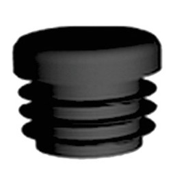 QlinQ QlinQ inslagdop insteek rond zwart 30 mm 4 stuks
