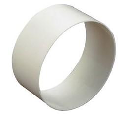 Nedco Nedco buisverbinder kunststof wit 100 mm