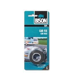 Bison Bison Car Fix tape zwart rol 1,5 m x 19 mm