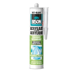 Bison Acrylaatkit Regenvast 310 ml wit