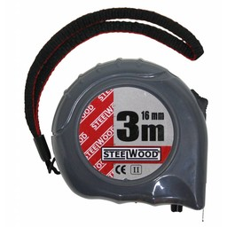 Steelwood Steelwood rolbandmaat 3 m x 16 mm