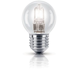 Philips Philips EcoClassic halogeenkogellamp 230 V 18 W E27 lichtkleur helder