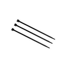 Bundelbandjes zwart 200 mm x 2,5 mm