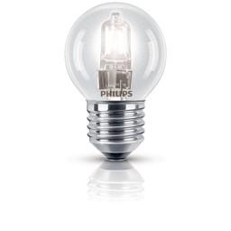 Philips Philips EcoClassic halogeenkogellamp 230 V 28 W E27 lichtkleur helder