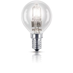 Philips Philips EcoClassic halogeenkogellamp 230 V 28 W E14 lichtkleur warm wit