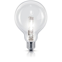 Philips Philips EcoClassic halogeenbollamp 230 V 42 W E27 lichtkleur warm wit