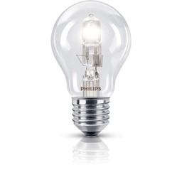 Philips Philips EcoClassic halogeenlamp 230 V 53 W E27 lichtkleur warm wit