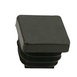 QlinQ QlinQ pootdop insteek vierkant zwart 30 mm 4 stuks
