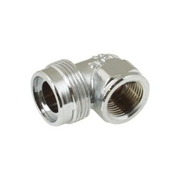"""Plieger Plieger aansluitnippel chroom 1/2"""" binnendraad x M24"""