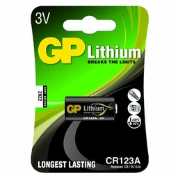 gp GP Photo Lithium CR123A (DL123A), blister 1