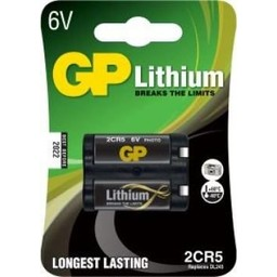 gp GP Photo Lithium 2CR5 (DL245), blister 1