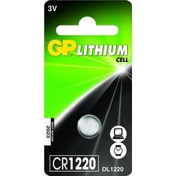 gp GP Lithium knoopcel CR1220, blister 1