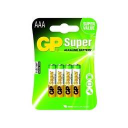 gp GP Super Alkaline AAA Micro Penlite Blister 4