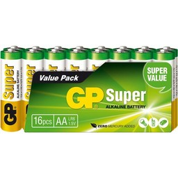 gp GP Super AA Alkaline Penlite 16 pack