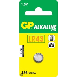 gp GP Alkaline knoopcel 186 (V12GA / L 1142), blister 1