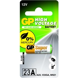 gp GP Hoog voltage alkaline rondcel 23A (MS21 / MN21), blister 1