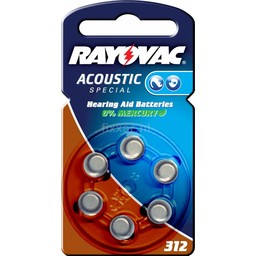Rayovac Acoustic Special V312 Bls 6