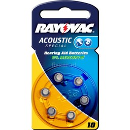 Rayovac Acoustic Special V10 Bls 6