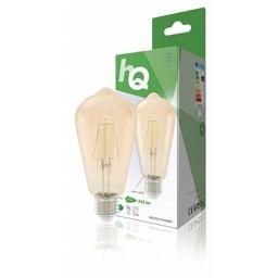 HQ Retro filament LED-lamp E27 4 watt 345 lumen 2700 kelvin