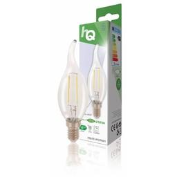 HQ Retro filament LED-lamp E14 2 watt 210 lumen 2700 kelvin
