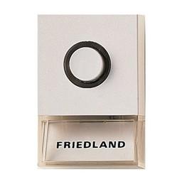 Friedland Friedland beldrukker Pushlite D723W wit